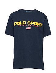 Polo Sport Cotton Jersey Tee - CRUISE NAVY