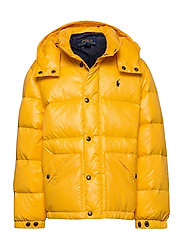 Water-Repellent Down Jacket - GOLD BUGLE