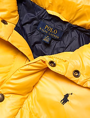 Ralph Lauren Kids - Water-Repellent Down Jacket - puffer & padded - gold bugle - 3