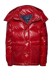 Water-Repellent Down Jacket - RL 2000 RED