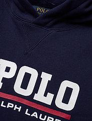Ralph Lauren Kids - Flag Logo Fleece Hoodie - pulls à capuche - newport navy - 2