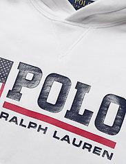 Ralph Lauren Kids - Flag Logo Fleece Hoodie - pulls à capuche - white - 2