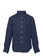 Linen Shirt - NEWPORT NAVY