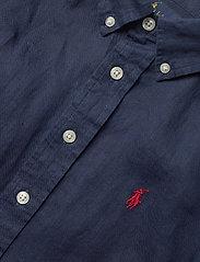 Ralph Lauren Kids - Linen Shirt - shirts - newport navy - 2