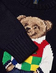 Ralph Lauren Kids - Polo Bear Cotton Sweater - knitwear - rl navy - 2