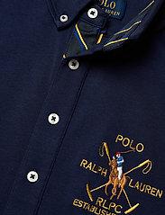 Ralph Lauren Kids - Cotton Interlock Shirt - overhemden - newport navy - 2