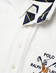 Ralph Lauren Kids - Cotton Interlock Shirt - overhemden - white - 2