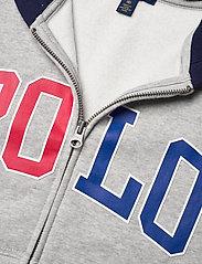 Ralph Lauren Kids - Logo Fleece Full-Zip Hoodie - pulls à capuche - andover heather - 2