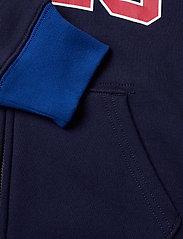 Ralph Lauren Kids - Logo Fleece Full-Zip Hoodie - pulls à capuche - newport navy - 3