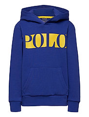 Logo Double-Knit Hoodie - HERITAGE ROYAL