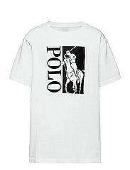 Big Pony Logo Cotton Jersey Tee - WHITE