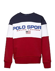 Polo Sport Fleece Sweatshirt - RL2000 RED MULTI
