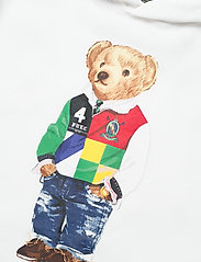 Ralph Lauren Kids - Polo Bear Fleece Hoodie - kapuzenpullover - white - 2