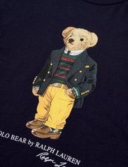 Ralph Lauren Kids - Polo Bear Cotton Jersey Tee - long-sleeved t-shirts - cruise navy - 2