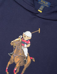 Ralph Lauren Kids - Polo Bear Fleece Hoodie - hoodies - cruise navy - 2