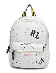 SCRIBBLE CANVAS-SM BACKPACK-BPK-SMA - ECRU