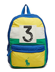 SAIL PTCHWRK NYLON-BACKPACK-BPK-LRG - GREEN MULTI