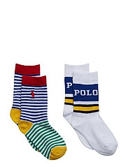COTTON BLEND-NEWPORT POLO 2PK CRW