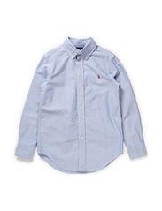 Custom Fit Oxford Shirt - BSR BLUE