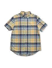 Cotton Madras Shirt - YELLOW/GREEN MU