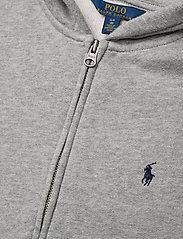 Ralph Lauren Kids - LSL FZ HOOD PP - hoodies - dark sport heat - 2
