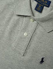 Ralph Lauren Kids - Custom Fit Cotton Mesh Polo - poloskjorter - nw grey heather - 2