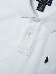 Ralph Lauren Kids - Custom Fit Cotton Mesh Polo - polo shirts - white - 2