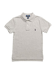 Custom Fit Cotton Mesh Polo - NW GREY HEATHER