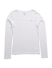 Cotton-Blend T-Shirt - WHITE