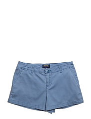 Washed Cotton Chino Short - FRENCH BLUE