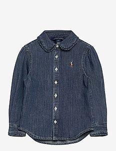 LT WT DENIM-DENIM SHIRT-TP-SHT - chemises - indigo