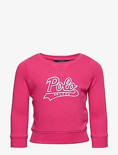 ATLANTIC TERRY-GRAPHIC PO-TP-KNT - ULTRA PINK