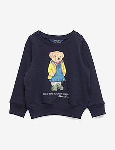 Raincoat Bear Terry Pullover - HUNTER NAVY