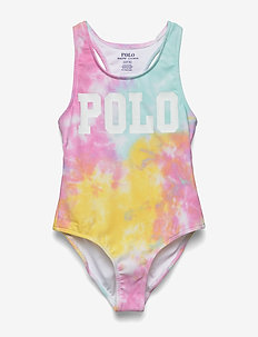 Tie-Dye One-Piece Swimsuit - swimsuits - tie dye