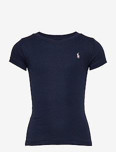 Crewneck T-Shirt - short-sleeved - french navy