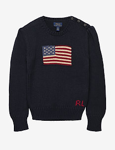 COTTON-AMERICAN SWT-TP-SWT - HUNTER NAVY