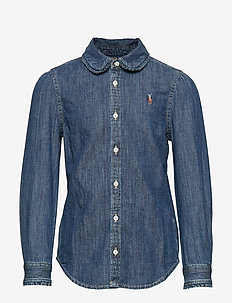 Cotton Denim Shirt - INDIGO