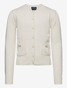 CASHMERE-PATCH PCKT-TP-SWT - gilets - warm white