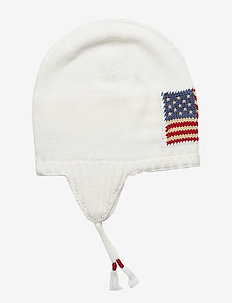 FLAG EARFLAP-APPAREL ACCESSORIES-HAT - NEVIS