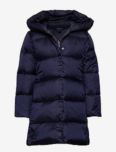 LONG DOWN CT-OUTERWEAR-JACKET - FRENCH NAVY