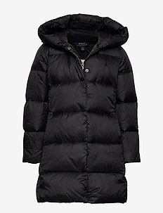 LONG DOWN CT-OUTERWEAR-JACKET - POLO BLACK