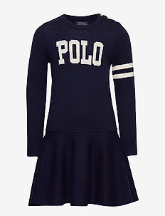POLO SW DRES-DRESSES-SWEATER - RL NAVY