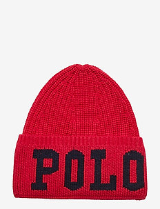 Polo Intarsia Wool-Blend Hat - SPORT PINK