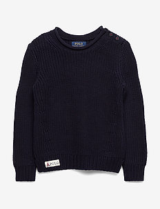 COTTON-ROLL NECK SW-TP-SWT - RL NAVY