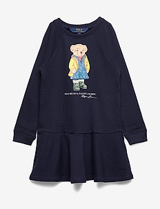 ATLANTIC TERRY-LS BEAR DRES-DR-KNT - HUNTER NAVY