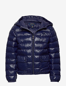 SH PERPETUAL NYLON-LT WT HD JKT-OW- - puffer & padded - french navy