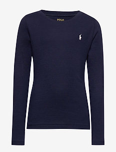 LS TEE-TOPS-KNIT - FRENCH NAVY