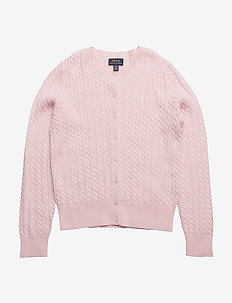 MINI CABLE-TOPS-SWEATER - HINT OF PINK