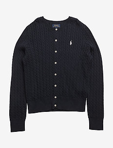 MINI CABLE-TOPS-SWEATER - HUNTER NAVY
