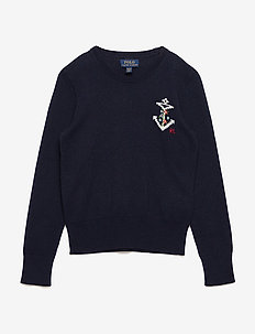 Motif Sweater - HUNTER NAVY